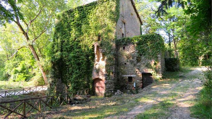 Ancient Mill sqm. 238 with land 2,7 hectares